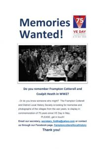 Memories wanted for VE Day displays